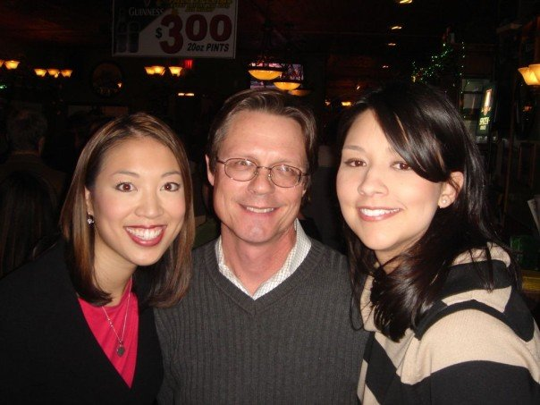 i met april in a committee room at the texas capitol, and john on my first day on the beat as a texas political reporter. we quickly learned we shared a birthday. this is a snap from our very first joint birthday party, in 2007.