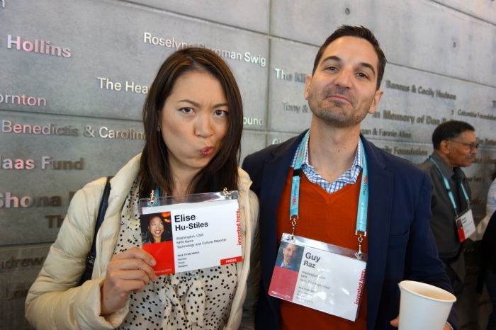 why were our ted badges the size of our faces? (with guy raz.)